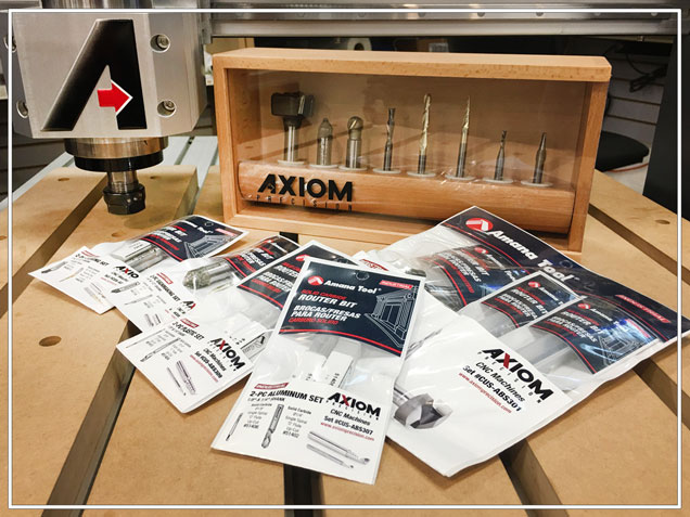 Axiom precision small format cnc routers accessories router bit set keyboard keysfo Image collections