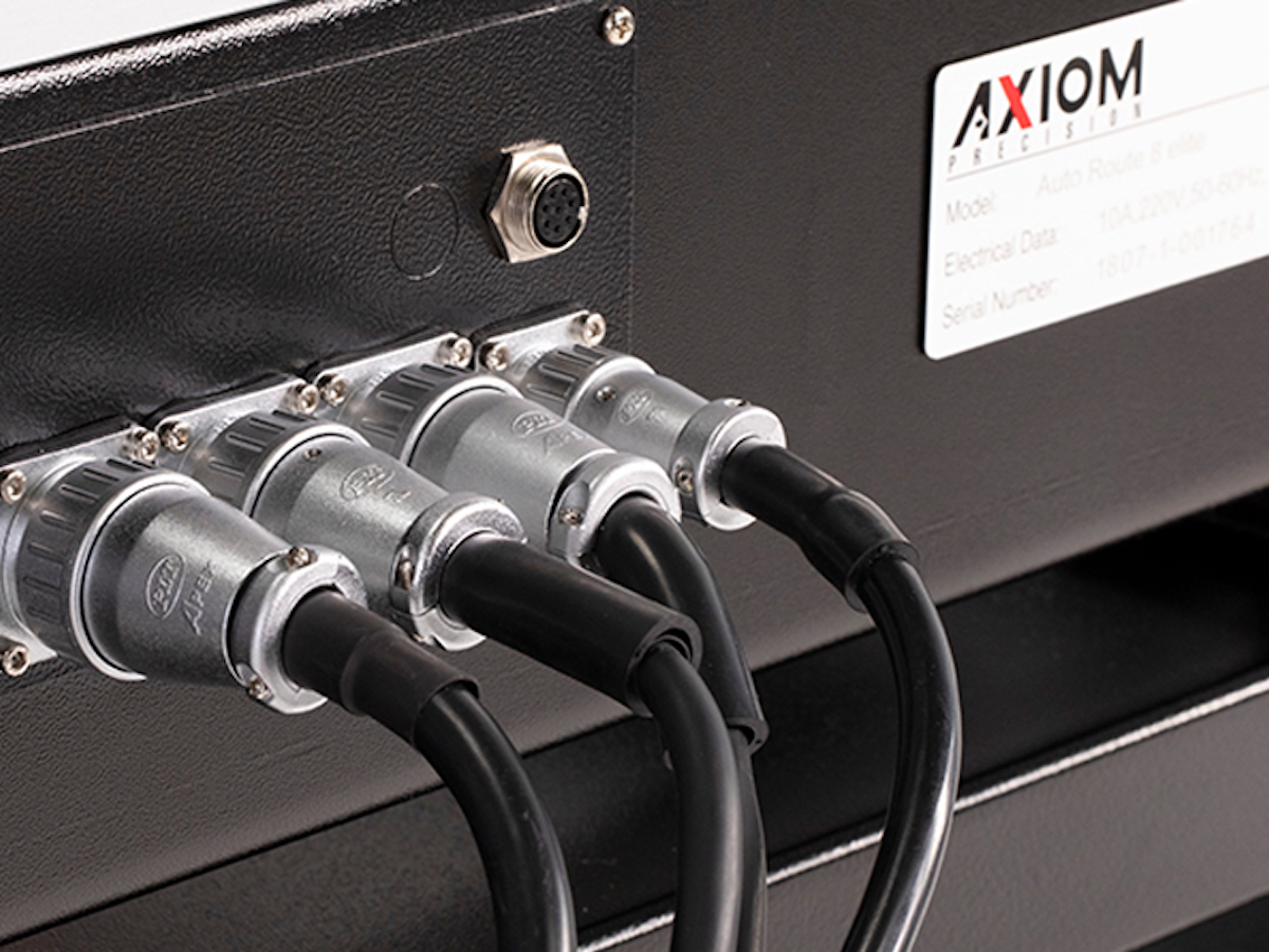 Axiom Precision CNC Industrial data connectors