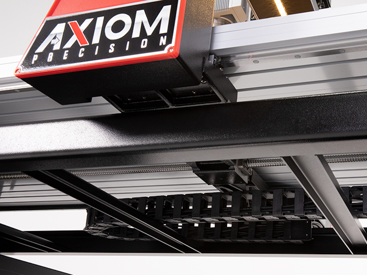 Axiom Precision CNC Cable Track Chain