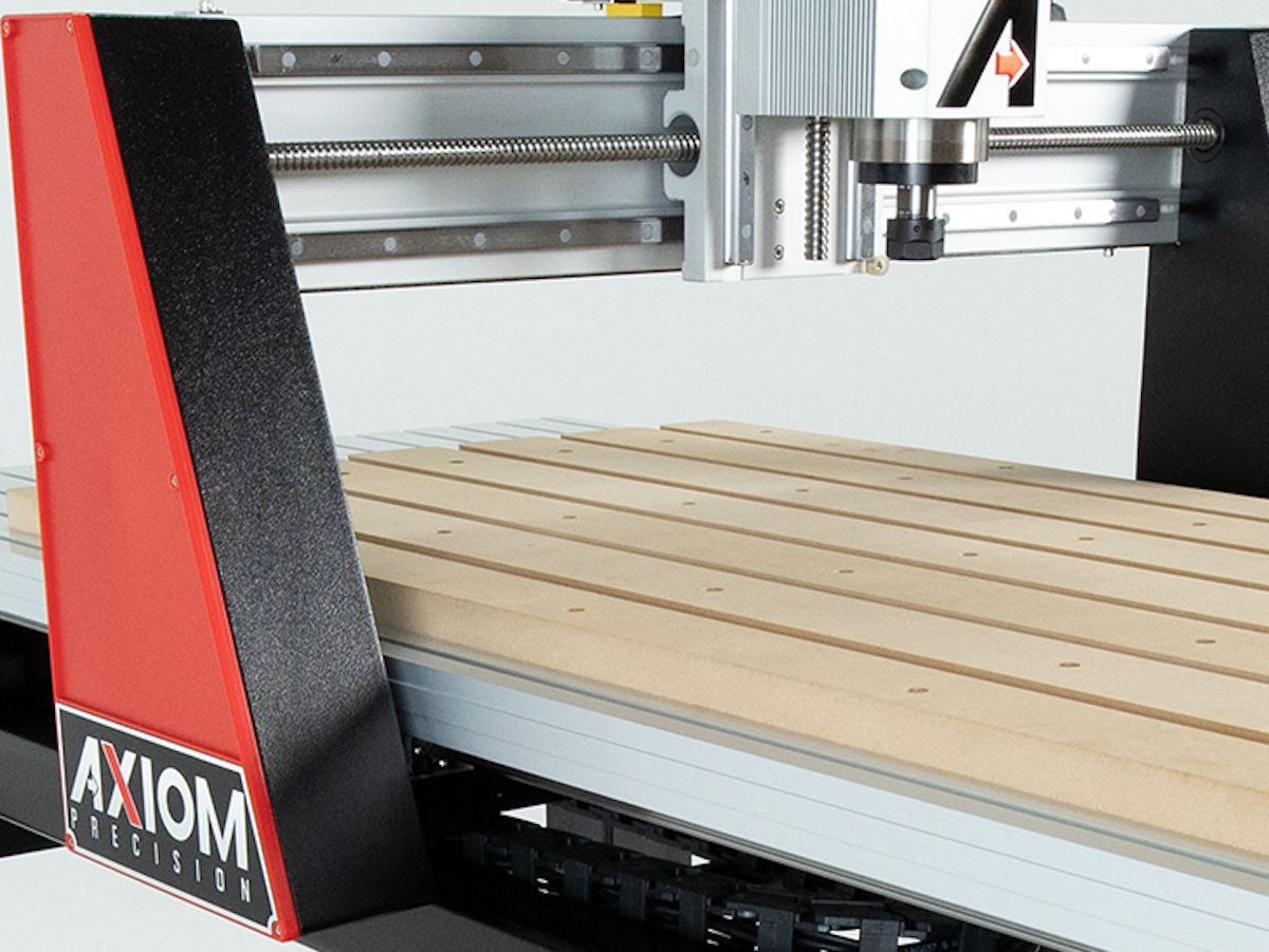 Axiom Precision CNC Cast Gantry Supports